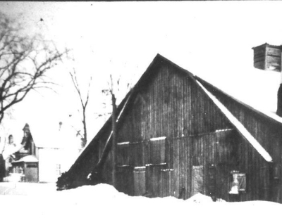 Original home of the BobcaygeonCurling Club